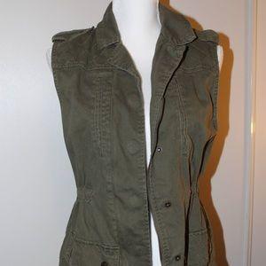 Military Green Utility Vest